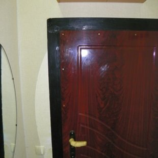 Запасной выход. 2 двери-сейф.