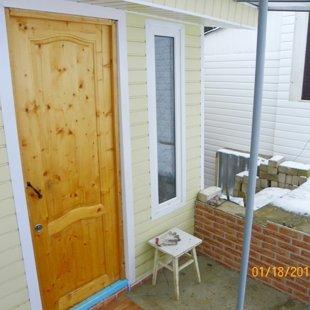 Дверь, оновной вход-выход