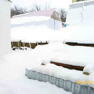 А в ночь на 3 февраля зима вернулась