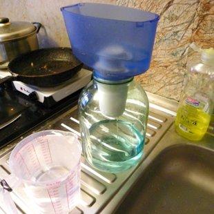 Фильтруем воду для первого полива